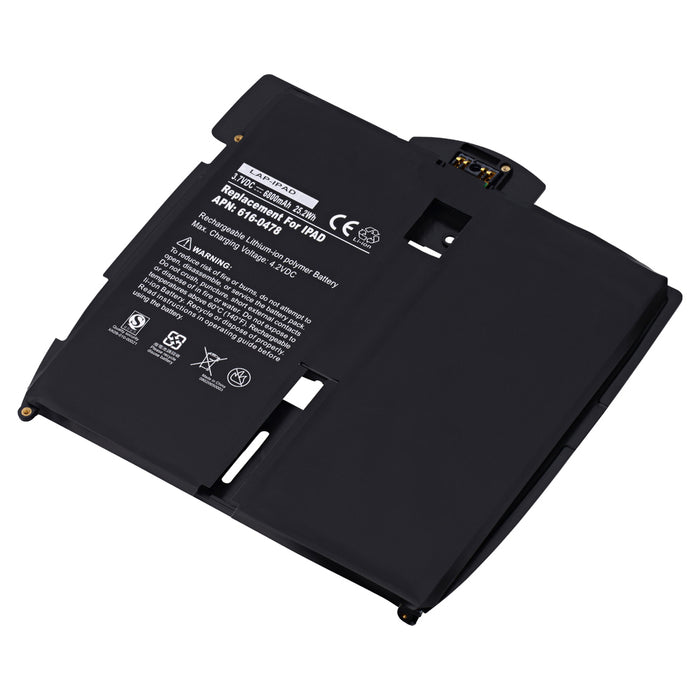 Apple iPad Replacement Battery for Apple iPad A1219, Apple iPad A1315, Apple iPad A1337