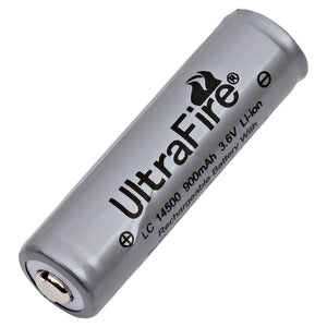 Image of UltraFire LION-1450-90-UF Battery 3.6VOLTS 900mAh, Replaces UltraFire 14500, UltraFire LC14500