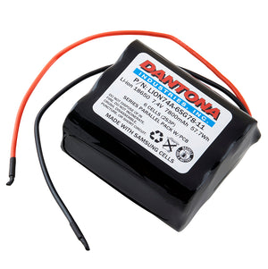 Image of Lithium Ion (ICR/CGR/LIR) LION74A-6SG78-11 7.4VOLTS 7800mAh Industrial Battery