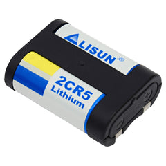 Lisun 2CR5, DL245, EL2CR5, 2CR5M Lithium Photo Battery, Camera Batteries