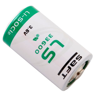 Image of Saft LS33600BA, LITH-37 Battery 3.6VOLTS 17000mAh, Replaces NSN 6135-01-463-2245