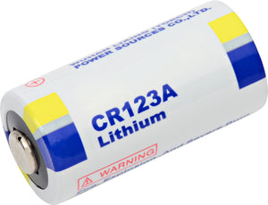 Image of Lisun CR123A 3V Lithium Camera Battery (AKA: CR123, DL123A, PL123, EL123, 123)
