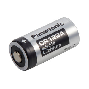 Image of Panasonic CR123A Industrial, LITH-8PANAIND Battery 3VOLTS 1300mAh Industrial Battery