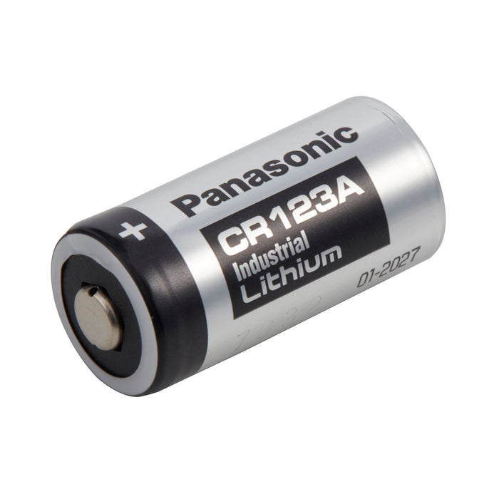 Panasonic CR123A Industrial, LITH-8PANAIND Battery 3VOLTS 1300mAh Industrial Battery