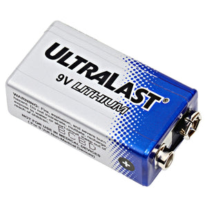 ultralast 9v lithium battery - compare to ultralife 9v lithium