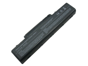 Image of 6 Cell 4400 mAh Li-Ion Laptop Battery for 107 laptops including Acer Aspire models, E-Machine models, Gateway models, and Packard Bell models