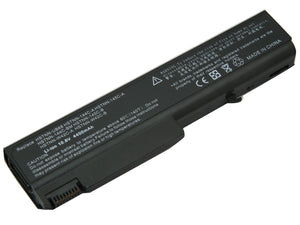 Image of 6 Cell 4400 mAh Li-Ion Laptop Battery for 25 HP Laptop Computers
