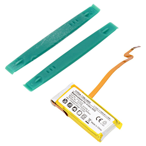 MP3 Player Battery PDA-139LI-60G Replaces Apple - 616-0232