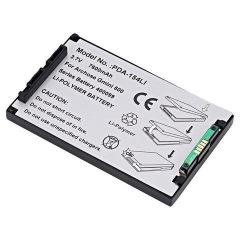 MP3 Player Battery PDA-154LI Replaces Archos - 400099
