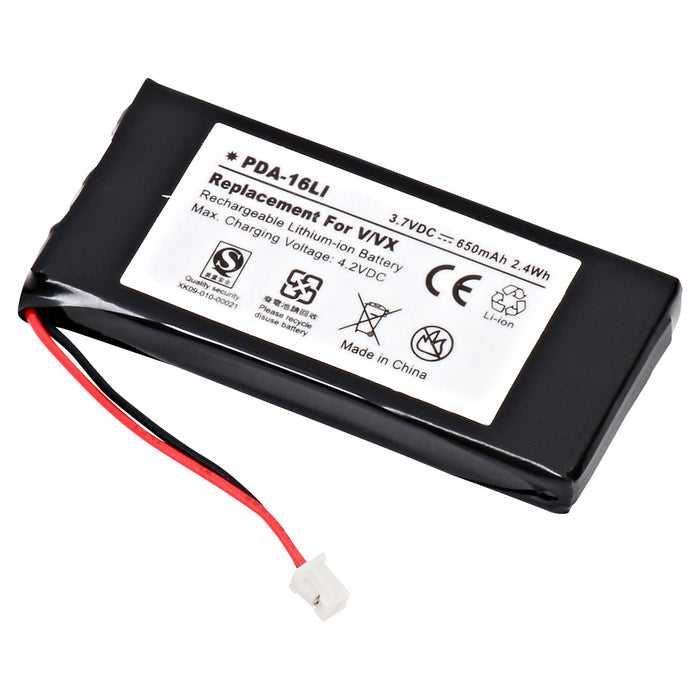 PDA Battery PDA-16LI Replaces Palm - V
