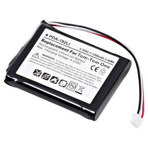 Image of GPS Battery PDA-192LI Replaces TomTom - 4K00.100,Interstate - LIT0254