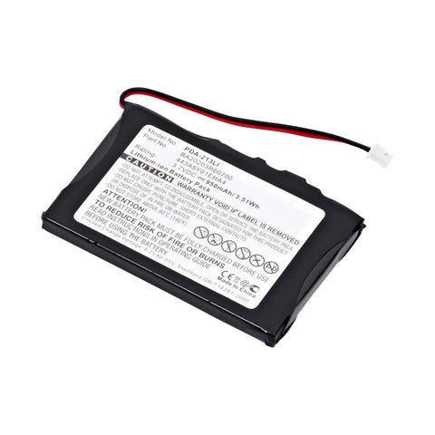 MP3 Player Battery PDA-213LI Replaces Dell - 443A5Y01EHA4, Interstate - LIT0226