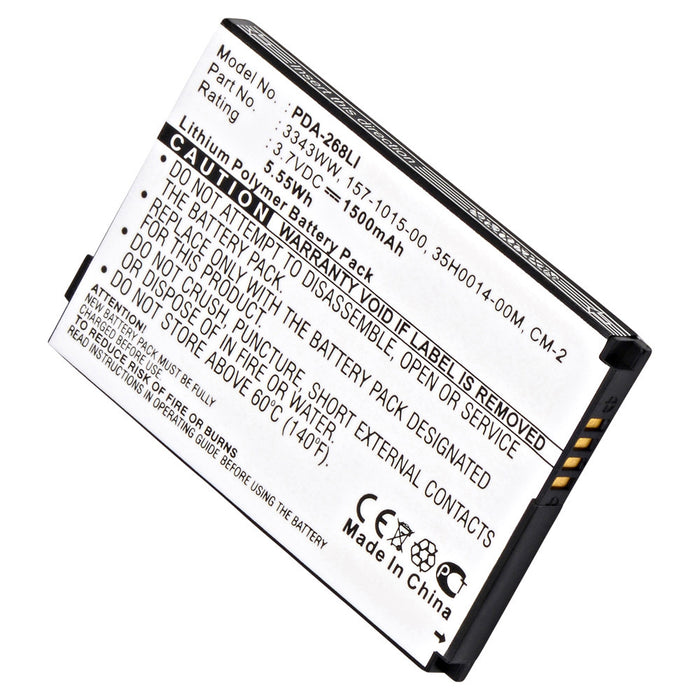 Cell Phone Battery PDA-268LI Replaces Palm - 157-1015-00