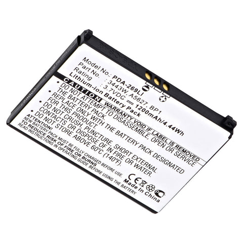 Cell Phone Battery PDA-269LI Replaces Palm - 157-10119-00