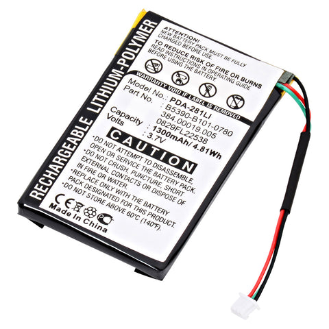 GPS Battery PDA-281LI Replaces Magellan - 0829FL22538, Interstate - LIT0359