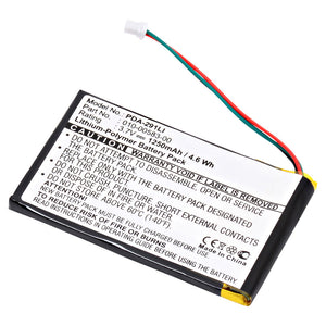 Image of GPS Battery PDA-291LI Replaces Garmin - 010-00657-00