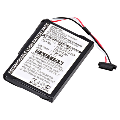 GPS Battery PDA-296LI Replaces MIO - 338937010159