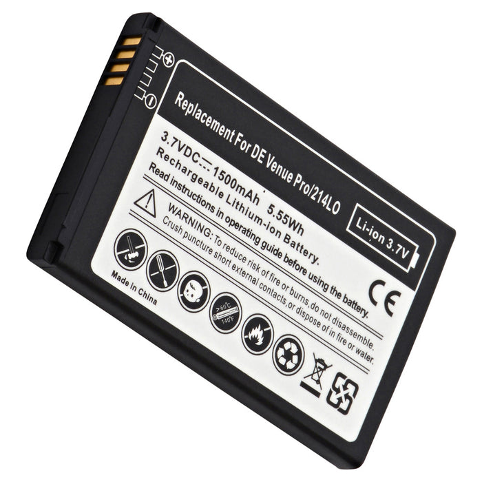 PDA Battery PDA-324LI Replaces Dell - 312-1184