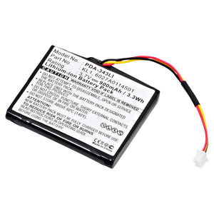 GPS Battery PDA-343LI Replaces TomTom - 1EN4.019.00