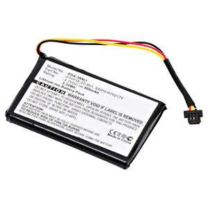 GPS Battery PDA-389LI Replaces TomTom - S4IP016702174