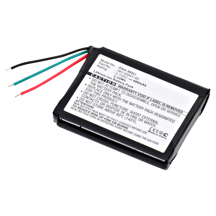 GPS Battery PDA-392LI Replaces Garmin - 361-00041-00