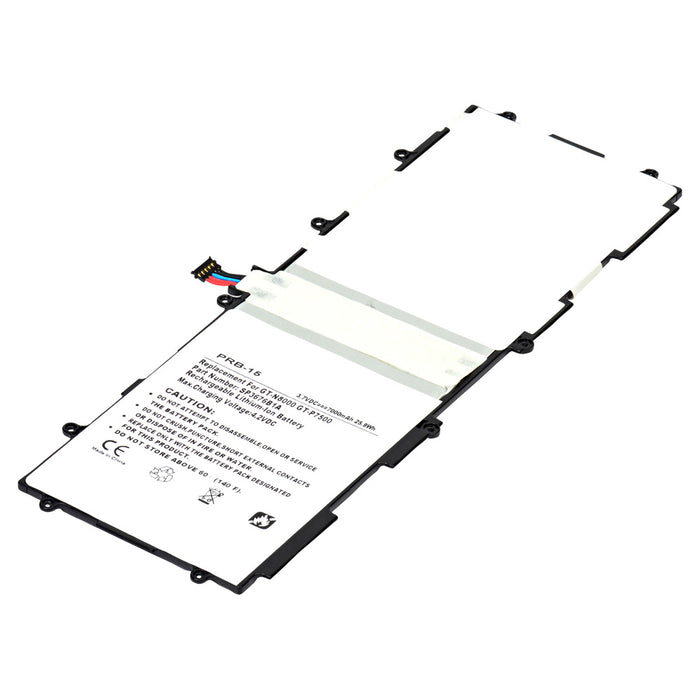 Replacement Battery for Samsung Galaxy Note 10.1, GT-N8000, GT-N8013, GT-P7500, GT-P7510, and GT-P7511
