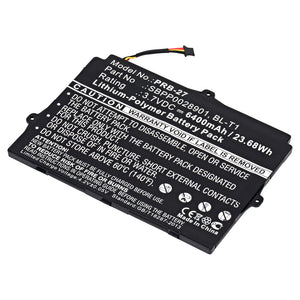 Image of Replacement Battery for T-Mobile G-Slate 4G, LG G-SLATE Optimus PAD, LG Optimus PAD G-SLATE, LG Optimus PAD L-06C, LG Optimus PAD V900, and LG V900