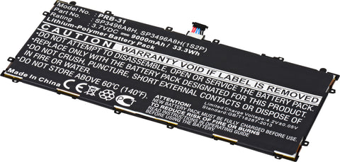 Tablet Battery PRB-31 Replaces Samsung - SP3496A8H