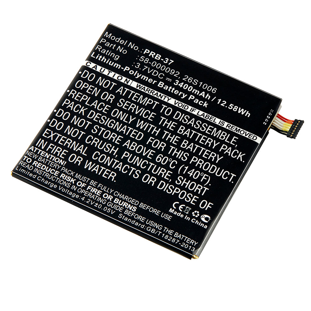 Replacement Battery for Amazon Fire HD 6, Amazon Kindle Fire HD 6, and  Amazon ST06