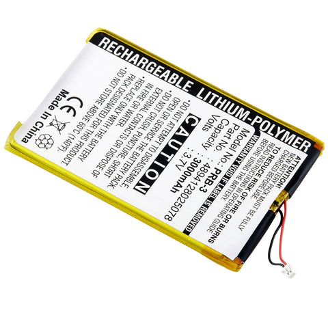 Replacement Battery for Ectaco Jetbook E-Book Reader Burgundy and Ectaco Multilingual Portable Reading Device