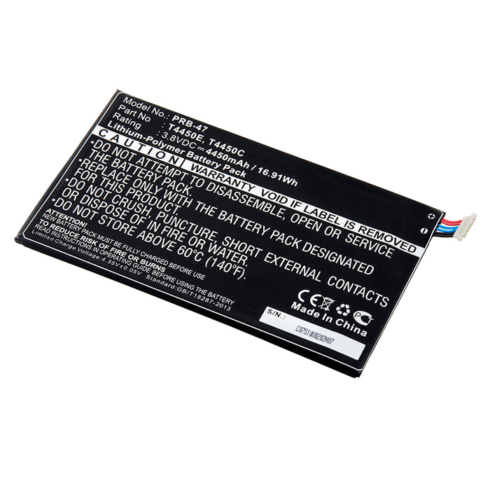 Replacement Battery for Galaxy Tab 3 8.0 3G/LTE/Wifi and Tab 4 8.0 LTE/Wifi