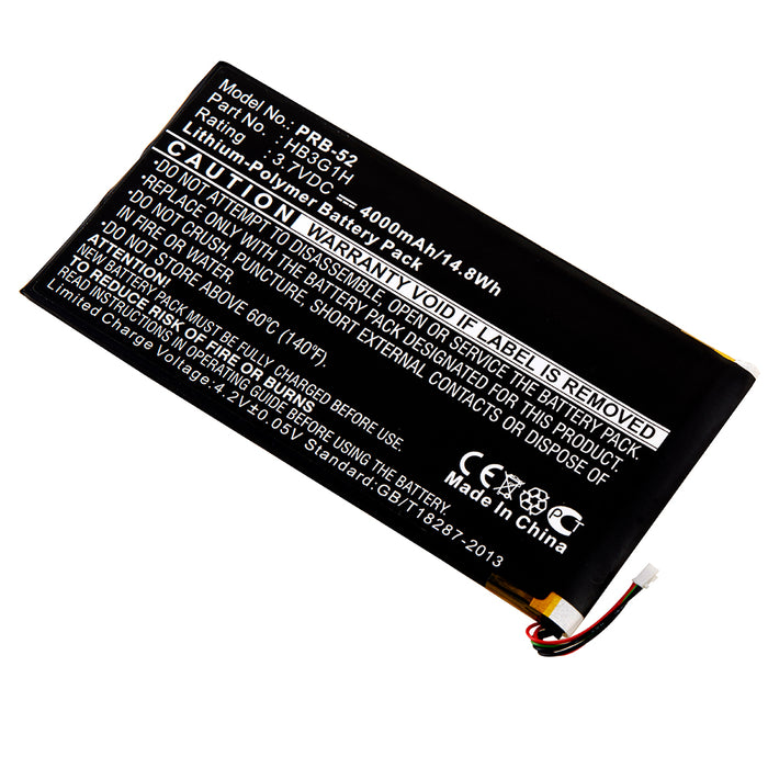Replacement Battery for Huawei MediaPad 7 Youth2 and ASUS MeMO Pad 7 LTE