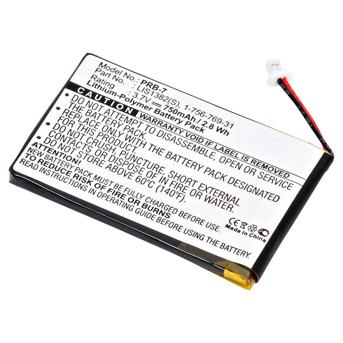 Replacement Battery for Sony PRS600, Sony PRS600/BC, Sony PRS600/RC