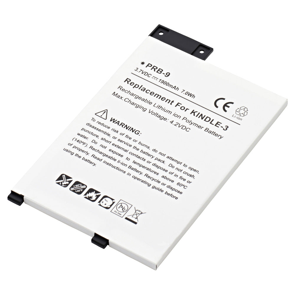 Replacement Battery for Amazon D00901, Amazon Graphite, Amazon Kindle 3