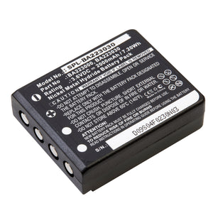 Image of Scale-Industrial Battery SPL-BA223030 Replaces HBC - Radiomatic BA223000, HBC - Radiomatic BA223030, HBC - Radiomatic Keynote, HBC - Radiomatic Linus 4, HBC - Radiomatic Micron 4, HBC - Radiomatic Micron 5, HBC - Radiomatic Micron 6, HBC - Radiomatic Micron 7, HBC - Radiomatic Patrol D, HBC - Radiomatic PM461523, HBC - Radiomatic Quadrix, HBC - Radiomatic Vector Pro