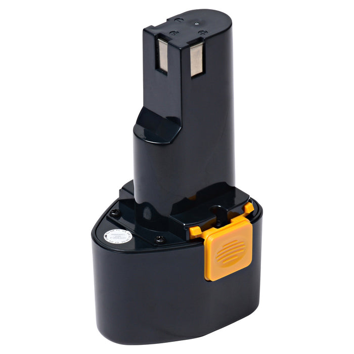 2400 mAh Replacement Power Tool Battery for Milwaukee - Cordless Drill 0394, 0396, 0212, and more