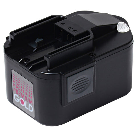 2000 mAh Replacement Power Tool Battery for Milwaukee - 0513-21, 0514-20, 0516-20, and more