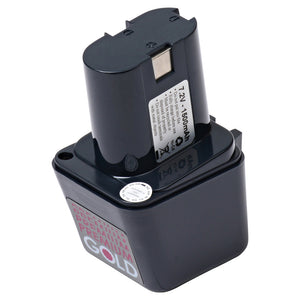 Image of 2500 mAh Replacement Power Tool Battery for Bosch - BS-6, GBM 7.2VE, GSR 7.2VE, GUS 7.2