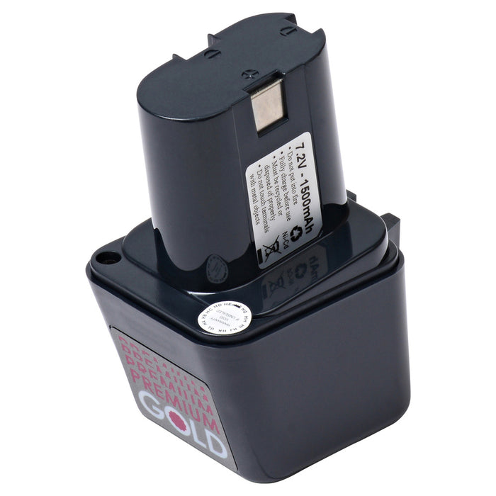 2500 mAh Replacement Power Tool Battery for Bosch - BS-6, GBM 7.2VE, GSR 7.2VE, GUS 7.2