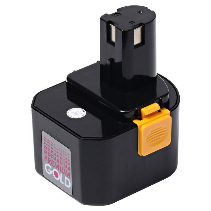 2000 mAh Replacement Power Tool Battery for Ryobi - CTH1202, CTH1202K2, FL1200, HP1201KM2, and more