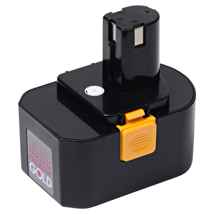 2000 mAh Replacement Power Tool Battery for Ryobi - FL1400, HP1441, HP1442MK2, R10520, R10521, RY6200