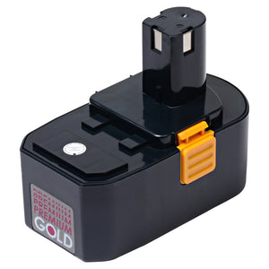 Image of 1500 mAh Replacement Power Tool Battery for Ryobi - HP1802M, MS180