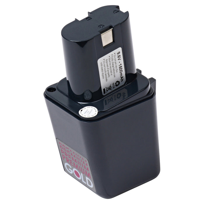 2500 mAh Replacement Power Tool Battery for Bosch - BS-8, GBM 9.6VE, GSB-9.6VE, GSB-9.6VES, and more