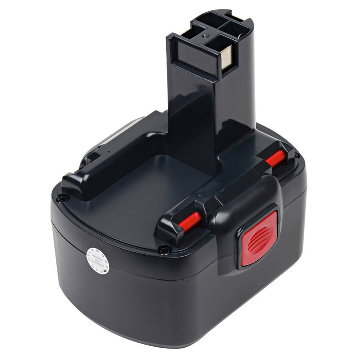 2000 mAh Replacement Power Tool Battery for Bosch - 13614, 1661, 1661K, 32614, 3454, 3454SB, and more