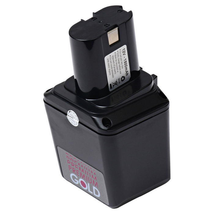 1500 mAh Replacement Power Tool Battery for Bosch - GBM 12VE, GBM 12VES, GBM 12VESB, and more