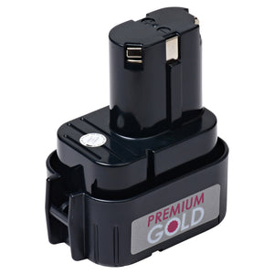 Image of 2500 mAh Replacement Power Tool Battery for Makita - 6014DW, 6201D, 6201DW, 6201DWH, 6202D, and more