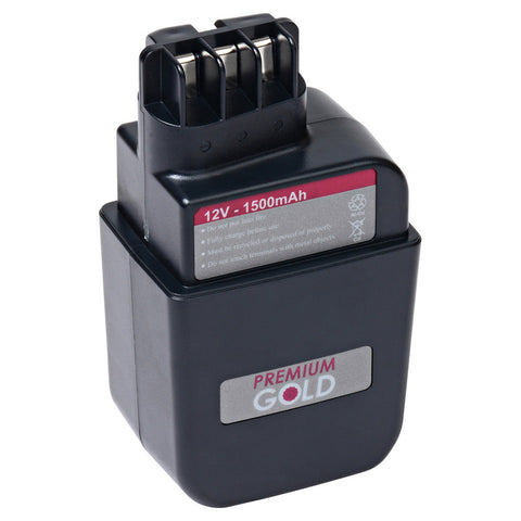 1500 mAh Replacement Power Tool Battery for Metabo - BE A 25 S R+L, BE AT 112/2 R+L, and more