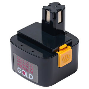 Image of 2500 mAh Replacement Power Tool Battery for Panasonic - EY9001, EY9101, EY9103, EY9107, and more