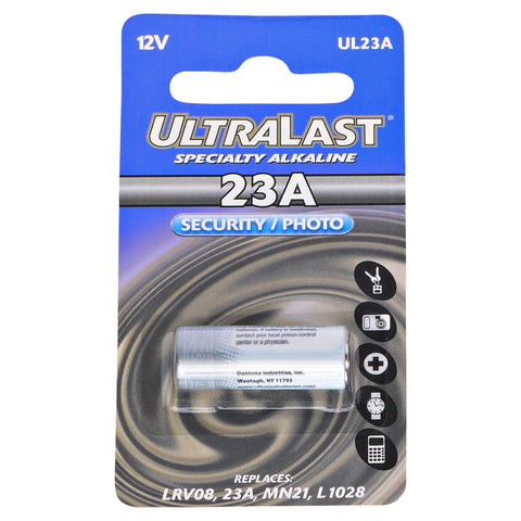 Dog Collar Battery UL23A Replaces Eveready - A23
