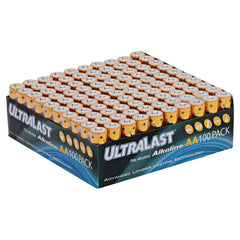 Household Battery ULA100AAB Replaces Duracell - PC1500 100 Pack